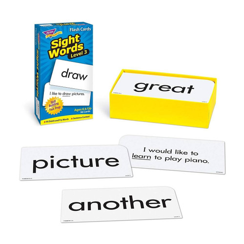 Trend Enterprises Inc Sight Words-Level 3 Skill Drill Educational Flash Cards