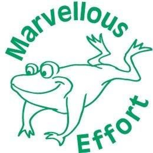 XStamper Marvellous Effort - Self inking teacher reward xstamper xclamations stamp