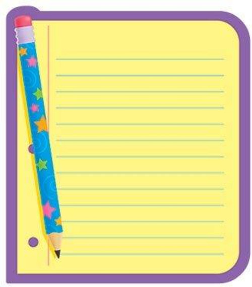 Trend Enterprises Inc Note Paper Themed Kids Fun Note Pad