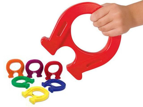 Learning Resources Learning Resources - Jumbo Horseshoe Shaped Mighty Magnet