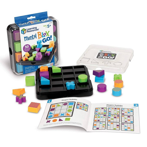 Learning Resources Learning Resources Mental Blox Go Critical travel Thinking Game