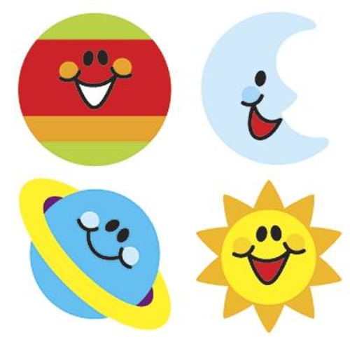 Trend Enterprises Inc 800 Sky Smiles superShapes reward Stickers