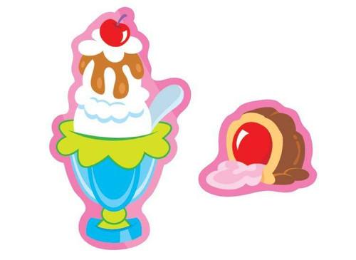 Trend Enterprises Inc TREND Sweet Treats Strawberry Scratch n Sniff Reward Stickers