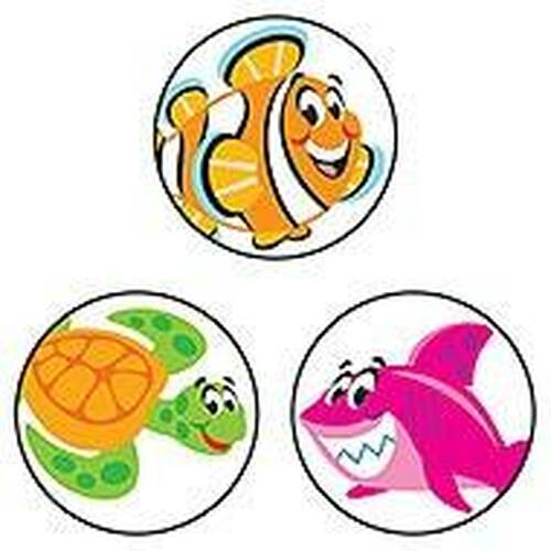 Trend Enterprises Inc 800 TREND Sea Buddies SuperSpots mini reward Stickers