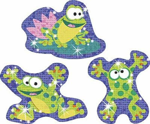 Trend Enterprises Inc 36 Frog Pond Pals Sparkle Reward Stickers