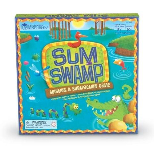 Learning Resources Sum Swamp Addition and Subtraction Game by Learning Resources