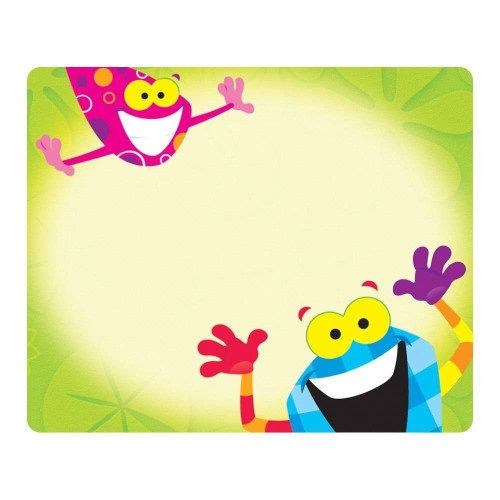 Trend Enterprises Inc 36 Frog-tastic Self-adhesive Name Tag Stickers - Terrific Labels