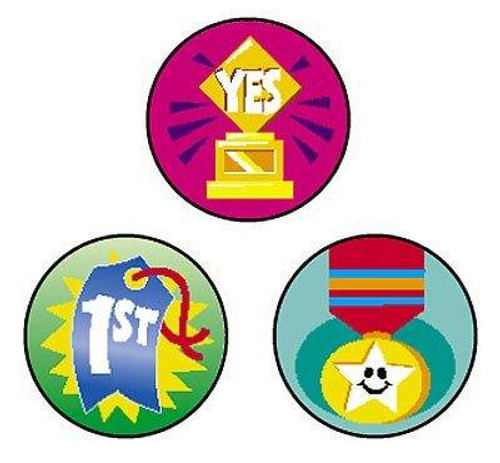 Trend Enterprises Inc 800 Awesome Awards superSpots reward Stickers