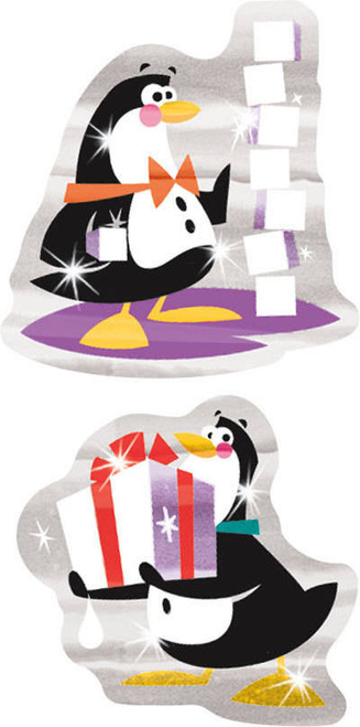 Trend Enterprises Inc TREND Penguins Pride Foil Bright Reward Stickers