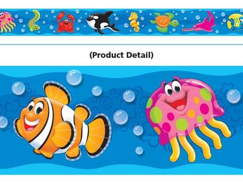 Trend Enterprises Inc Sea Buddies - School Classroom Display - Trend Bolder Border