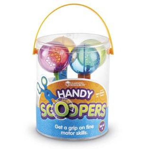 Learning Resources Learning Resources - Handy Scoopers for Fine Motor Skills set of 4