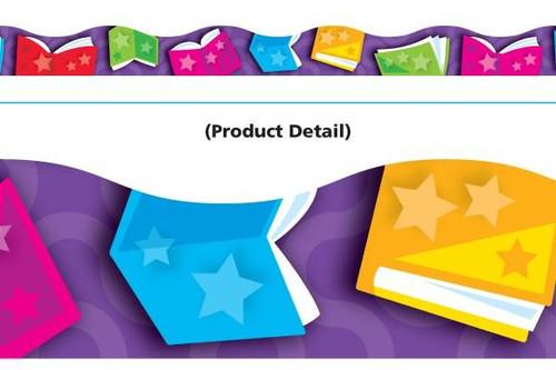 Trend Enterprises Inc Classroom Trimmers Notice Board Display Borders - Bright Books