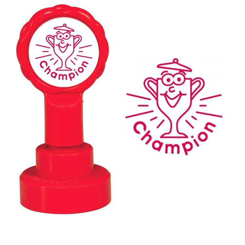 XStamper Champion - Self inking teacher reward xstamper xclamations stamp