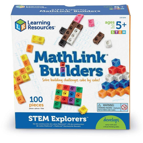 Learning Resources Learning Resources MathLink Builders-STEM Explorers
