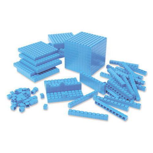 Learning Resources Interlocking Plastic Base Ten Class Set Set of 823 by Learning Resources