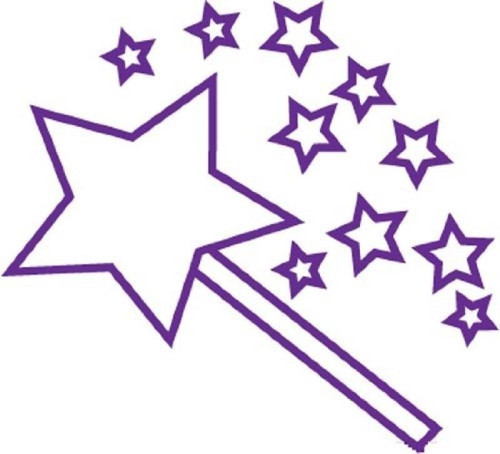 XStamper Stars - Self inking teacher reward xstamper xclamations stamp