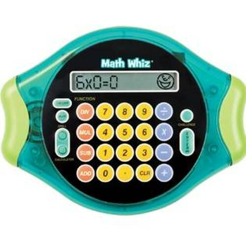 Learning Resources Math Whiz Maths Challenge Electronic Game by Learning Resources