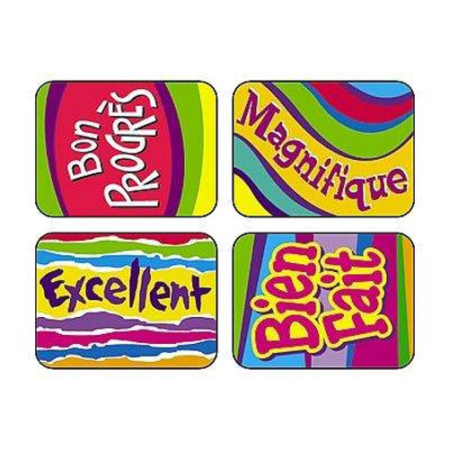 Trend Enterprises Inc TREND French magnifique Applause reward STICKERS