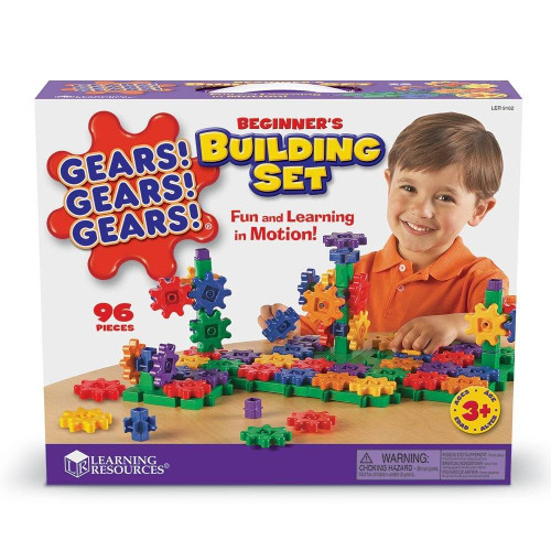 Learning Resources Gears Gears Gears Beginner Building Set by Learning Resources