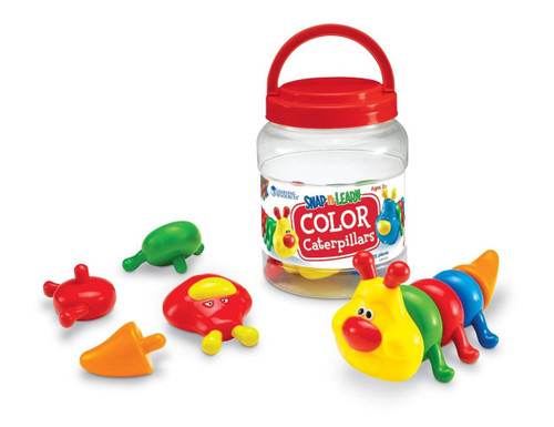 Learning Resources Learning Resources - Snap n Learn Colour Caterpillars