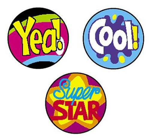 Trend Enterprises Inc 800 Cool Words superSpots reward Stickers