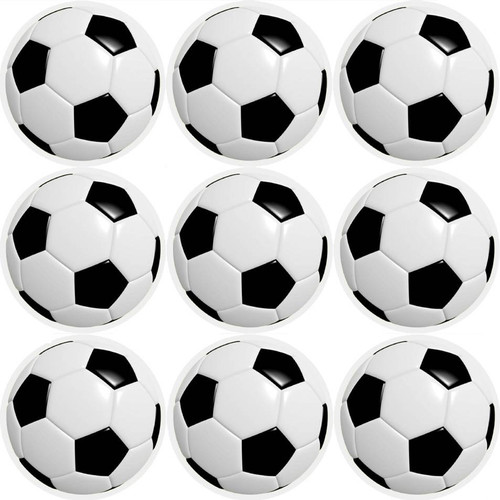 Sticker Stocker 144 Football 30mm Childrens Reward Stickers for Teachers or Parents and Party Bags