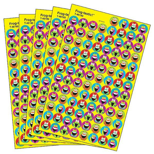 Trend Enterprises Inc 2500 TREND Frog-tastic superSpots reward Stickers