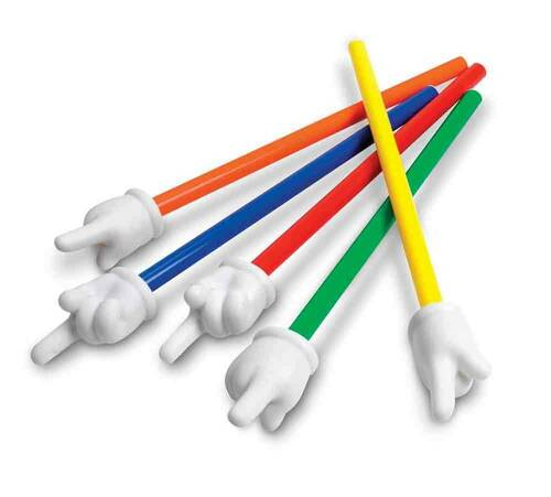 Learning Resources Learning Resources 1 x 37.5cm Whiteboard Hand Pointers Single