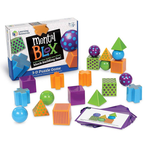 Learning Resources Learning Resources Mental Blox Critical Thinking Game