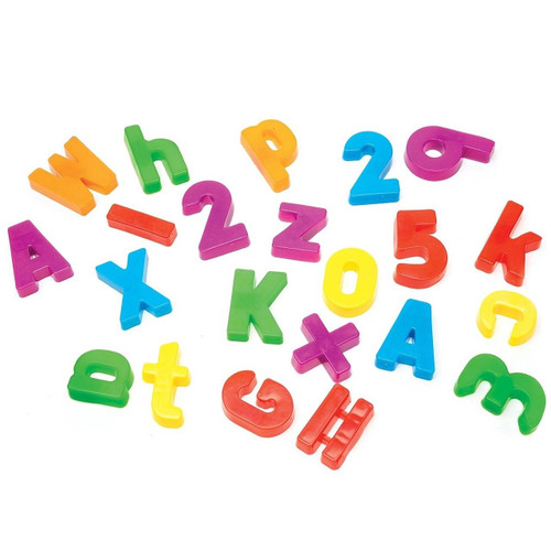 Learning Resources Magnetic Alphabet and Numbers by Learning Resources