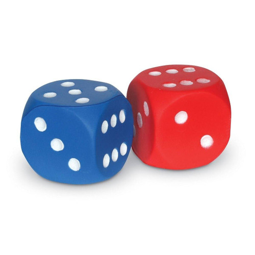 Learning Resources Learning Resources 4cm Foam Dot Dice