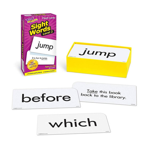 Trend Enterprises Inc Sight Words-Level 2 Skill Drill Educational Flash Cards