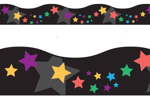 Trend Enterprises Inc Classroom Trimmers Notice Board Display Borders - Stargazer