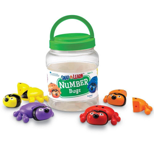Learning Resources Learning Resources - Snap n Learn Number Bugs