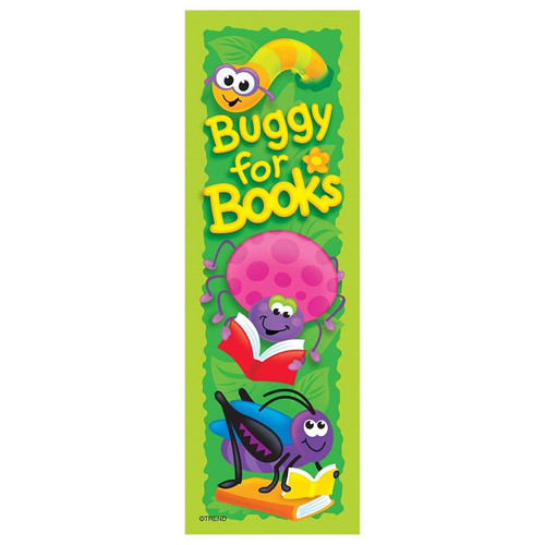 Trend Enterprises Inc 36 Buggy for Books Bug reading reward bookmarks for teachers