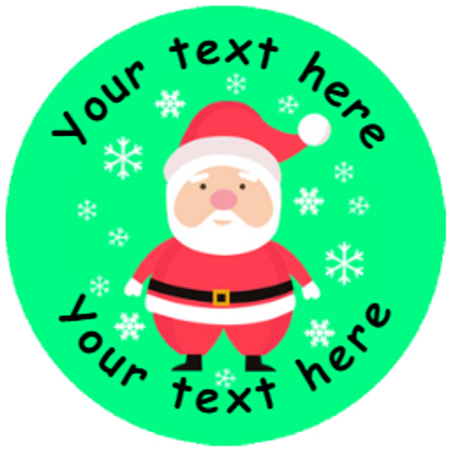 Sticker Stocker 144 Personalised Christmas Friends 30mm Reward Stickers for School Teachers, Parents and Nursery