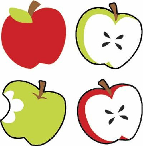 Trend Enterprises Inc 800 TREND Tasty Apples superShapes Reward Stickers