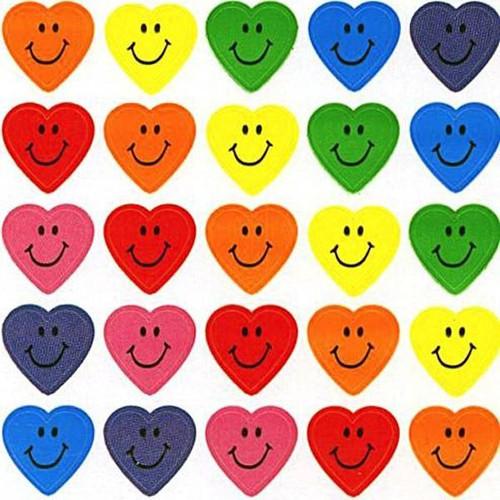 Trend Enterprises Inc 800 Heart Smiles superShapes chart reward Stickers