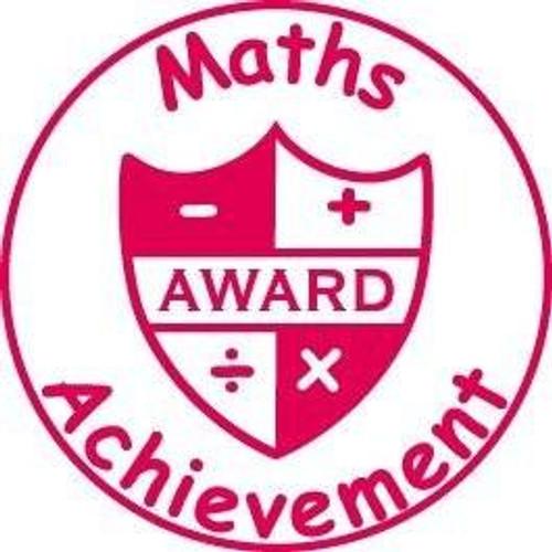 XStamper Maths Achievement - Self inking teacher reward xstamper xclamations stamp