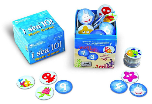Learning Resources Learning Resources I Sea 10 Game