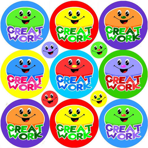 Sticker Stocker 234 Great Work Reward Stickers for School Teachers, Parents and Nursery