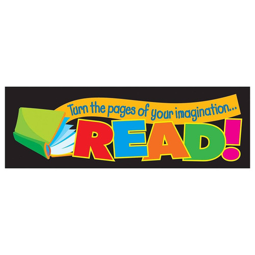 Trend Enterprises Inc 36 Turn The Pages of Your ImaginationRead reading reward bookmarks for teachers
