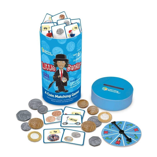Learning Resources Learning Resources Little Banker Coin Matching Game