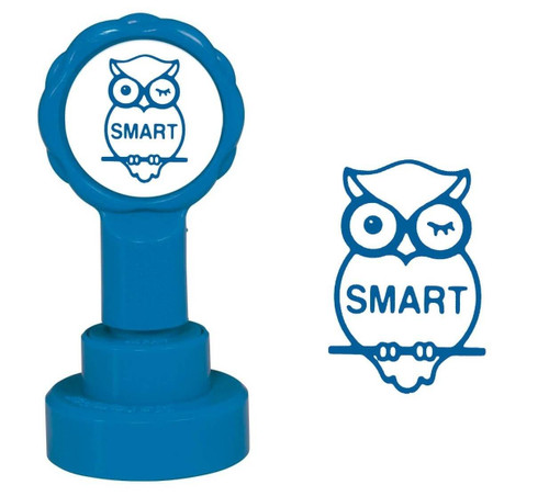 XStamper Smart Owl - Self inking teacher reward xstamper xclamations stamp