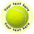 Sticker Stocker 144 Personalised Tennis 30mm Reward Stickers for School Teachers, Party Bag, Parents and Nursery