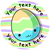 Sticker Stocker 144 Personalised Easter Eggs 30mm Reward Stickers for School Teachers, Parents and Nursery