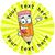 Sticker Stocker 144 Happy Pencils Personalised 30 mm Reward Stickers for School Teachers, Parents and Nursery