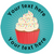 Sticker Stocker 144 Cupcakes Personalised 30 mm Reward Stickers for School Teachers, Parents and Nursery