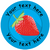 Sticker Stocker 144 Personalised Fruits 30mm Reward Stickers for School Teachers, Parents and Nursery