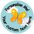 Sticker Stocker 144 Butterflies Personalised 30 mm Reward Stickers for School Teachers, Parents and Nursery